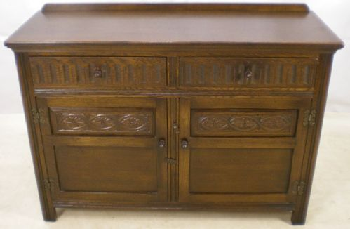 Antique Style Dark Elm Sideboard Base by Jaycee - SOLD